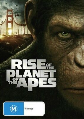 Rise of the Planet of the Apes = NEW DVD R4