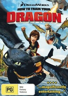 HOW TO TRAIN YOUR DRAGON New DVD R4