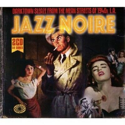 Jazz Noire 2-CD NEW SEALED 1940s Ella Fitzgerald/Billie Holiday/Cab Calloway+