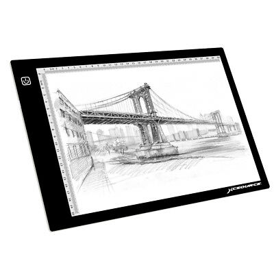 XCSOURCE A4 LED Artist Slim Drawing Board Tracing Light Box Pad Adjustable XC702