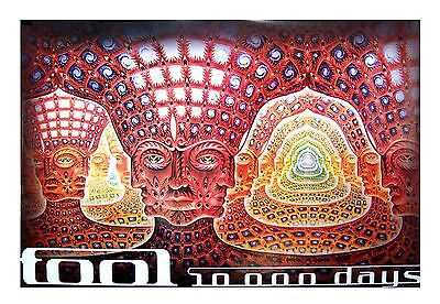 Tool Net Of Being 10,000 Days Alex Grey Jumbo Poster 40X60 New Sealed Band Rare