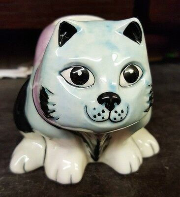 Lorna Bailey CAT egg cup Limited Edition 1 of 2 FREE P&P