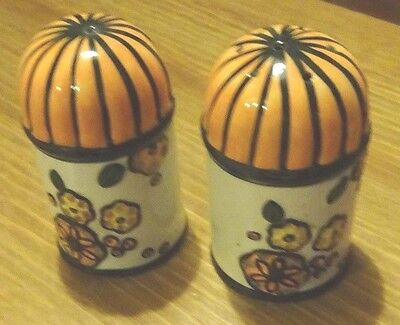 Lorna Bailey Pottery Cruet Limited edition 93/100 FREE P&P