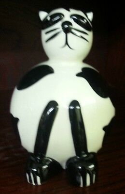 Lorna Bailey Pottery SNOWBALL THE CAT Excellent Condition FREE P&P