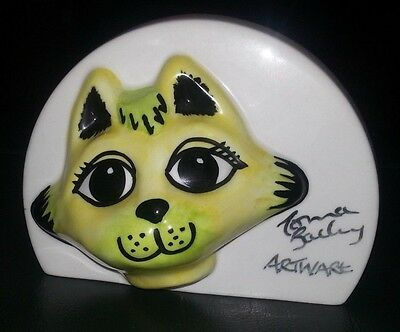 Lorna Bailey Chelsea the cat POS Excellent Condition FREE P&P +