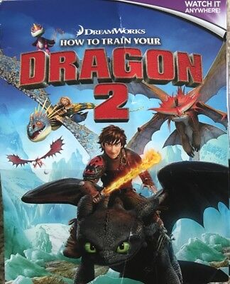 How To Train Your Dragon 2 Fox Film     Hd Code Digital Download Code Only