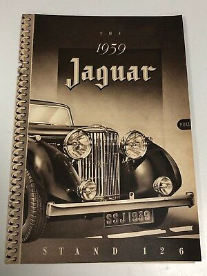 Very Rare 1938 / 1939 JAGUAR SS Cars 6 Page Pull Out Motor Car Magazine Advert