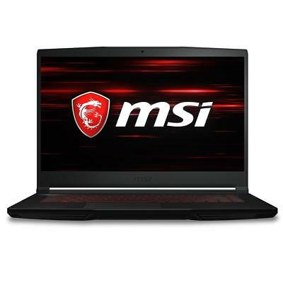 "MSI GF63 15.6"" FHD Gaming Notebook, i5-8300H, 8GB RAM, 256GB SSD, GTX 1050, W10"