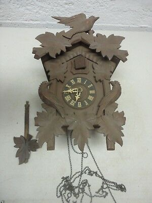 Vintage Cuckoo Clock Made in Germany  Non-Working