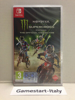 Monster Energy Supercross - Nintendo Switch - Videogioco Pal Nuovo Sigillato New