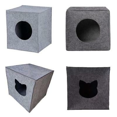 Pet Dog House Kennel Beds Cave Cat Puppy Bed Doggy Warm Cushion Foldable
