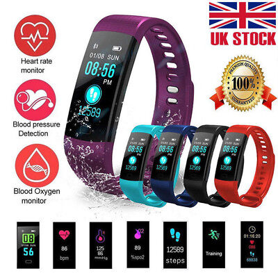 ID115 Plus Bluetooth Smart Watch Fitness Tracker Bracelet Heart Rate Steps Sport