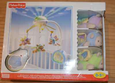 Mobile Doux rêves papillons FISHER PRICE NEUF cadeau naissance
