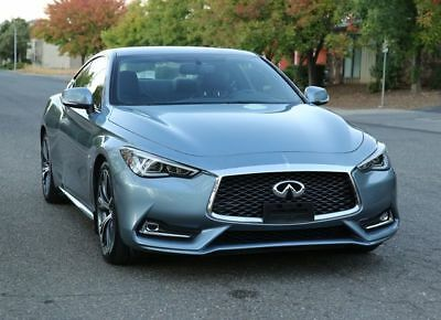 2018 Infiniti Q60 3.0t Luxe Coupe 2D 2018 INFINITI Q60, Hagane Blue with 18,028 Miles available now!