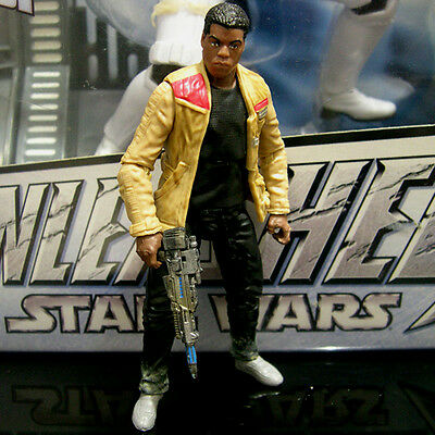 "STAR WARS the black series FINN the Force Awakens epVII 3.75"" TBS Walmart"