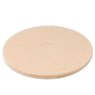 "Boardwalk PAD4020ULT Ultra High-speed Floor Pads, Ultra Champagne, 20"" Diameter,"