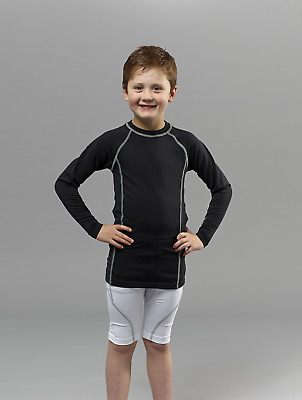 CLEARANCE New Kids NGOI Core Control Baselayer. Black x 21.