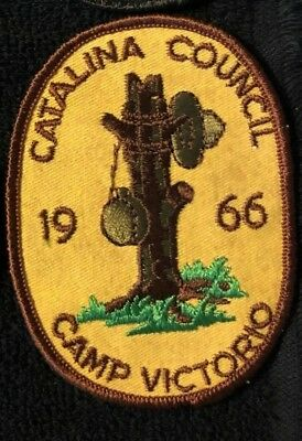 Catalina Council Arizona 1969 Camp Victorio  Mint Condition Boy Scouts Patch