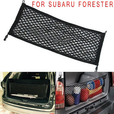 For Subaru Forester Auto Rear Trunk Cargo Net Mesh Storage Organizer Pocket Fit
