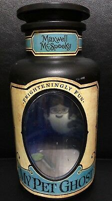 HALLMARK Blue Label MY PET GHOST Maxwell McSpooky Bottle Light Sound