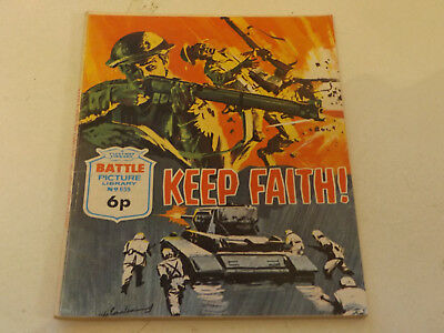 BATTLE PICTURE LIBRARY NO 659,dated 1972 !,V GOOD FOR AGE,VERY RARE,46 yrs old.