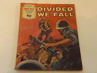 BATTLE PICTURE LIBRARY NO 668,dated 1972 !,GOOD FOR AGE,VERY RARE,46 yrs old.