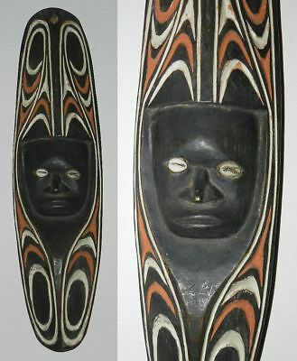 Old Chambri Lakes Ancestor Mask - New Guinea - Excellent