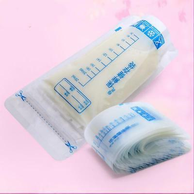 30Pcs 250ml Breast Milk Storage Bag Baby Liquid Food Freezer Storage Bag HZ