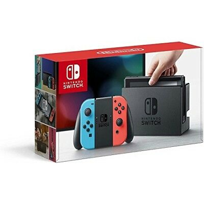 Nintendo Switch – Neon Red and Neon Blue Joy-Con