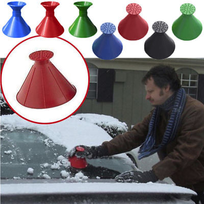 A Marvel Gift ! ! ! Miracle  Round Scraper Windshield Ice Scraper