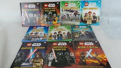 DK LEGO STAR WARS 10 Books HB Dorling Kindersley 2015