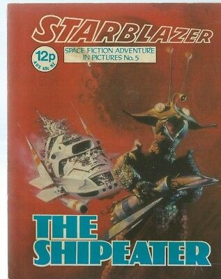 The Shipeater,starblazer Space Fiction Adventure In Pictures,comic,no.5