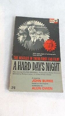 The Beatles A Hard Day's Night - John Burke PB PAN 1964
