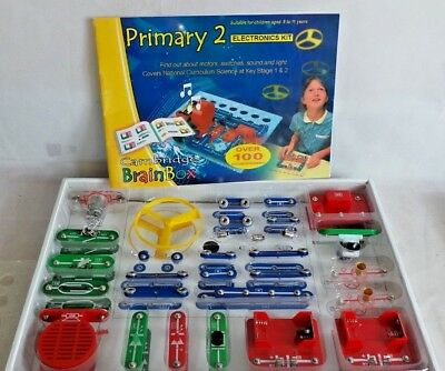 Primary 2 Electronics Kit by Cambridge Brainbox