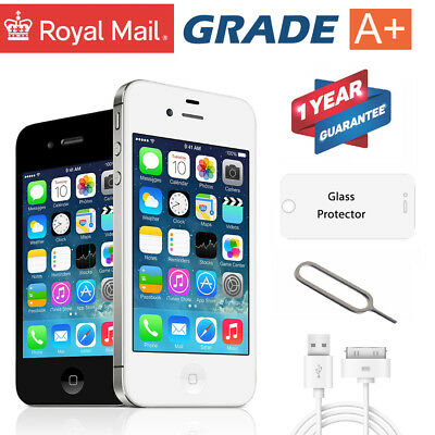 Apple iPhone 4S 8GB/ 16GB/ 32GB -Factory UNLOCKED SIM FREE SMARTPHONE MOBILE