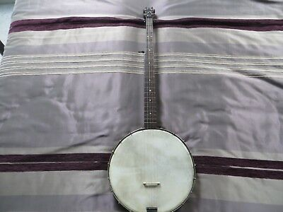 Fine vintage openback 5 string banjo in playable condition for old time playing.