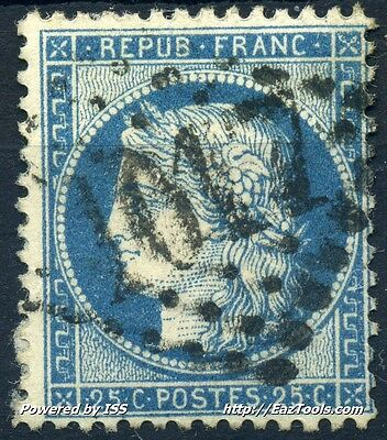 France Ceres N° 60 Obliteration Gc 1017 Chinon Indre Et Loir