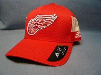 purchase cheap 95691 9cd0c Adidas Detroit Red Wings Structured Flex BRAND NEW hat cap NHL Draft 17  Hockey