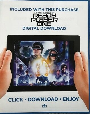 Ready Player One (1)        Hd Code Uv Ultraviolet Code Only