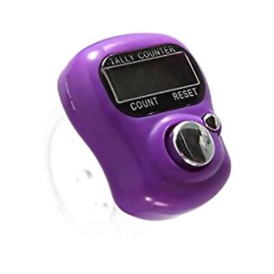 Compact Digit Digital LCD Electronic Finger Hand Ring Knitting Row Tally Counter