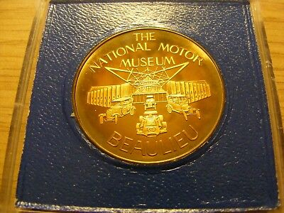 The National Motor Museum Beaulieu Solid Bronze Medal - in presentation case