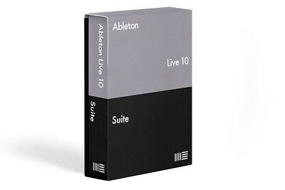 Ableton Live 10 Suite | Program + License | Windows Pc