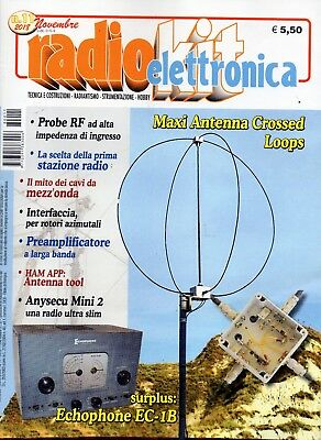 Radio Kit Elettronica 2018 11 novembre.Maxi Antenna Crossed Loops