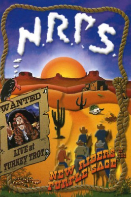 New Riders of the Purple Sage-Wanted: Live at Turkey Trot (DVD and CD) CD NEW