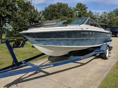 "1987 Larson Citation DC175 17'6"" Bowrider & Trailer - Ohio"