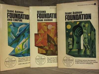 THE FOUNDATION TRILOGY: Foundation; Foundation and Empire; Second Foundation by