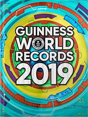 Guinness Book Of World Records 2019 NEW Hardcover Games
