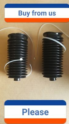 6 PIECE KIT-IN STOCK-2 Boots 4 Clamps Saturn Aura Rack /& Pinion Bellow//Boot