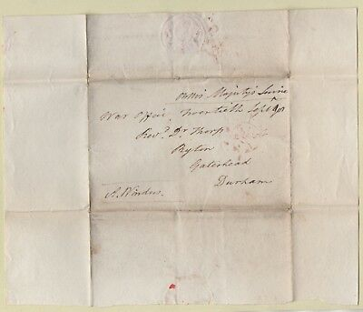 1790s WAR OFFICE Wrapper to RYTON: RARE FREE Frank SIGNED WINDAM, SECy of WAR