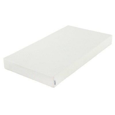 Graco Natural Organic Cotton Foam Baby Crib and Toddler Bed Mattress, Off White
